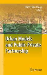 Urban Models and Public-Private Partnership