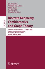 Discrete Geometry, Combinatorics and Graph Theory