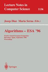Algorithms — ESA '96