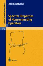 Spectral Properties of Noncommuting Operators
