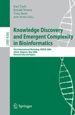 Knowledge Discovery and Emergent Complexity in Bioinformatics