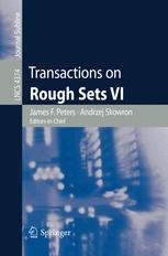 Transactions on Rough Sets VI