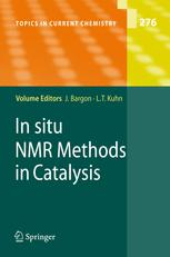 In situ NMR Methods in Catalysis