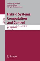 Hybrid Systems: Computation and Control
