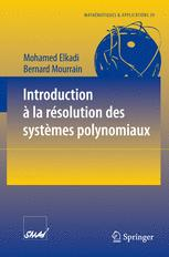 Introduction à la résolution des systèmes polynomiaux