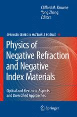 Physics of Negative Refraction and Negative Index Materials