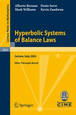 Hyperbolic Systems of Balance Laws