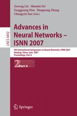 Advances in Neural Networks – ISNN 2007