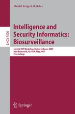 Intelligence and Security Informatics: Biosurveillance