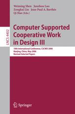 Computer Supported Cooperative Work in Design III