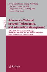 Advances in Web and Network Technologies, and Information Management