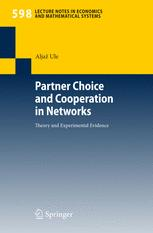 Partner Choice and Cooperation in Networks