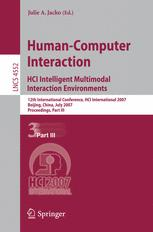 Human-Computer Interaction. HCI Intelligent Multimodal Interaction Environments