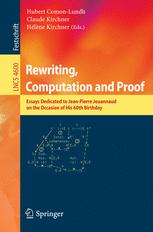 Rewriting, Computation and Proof