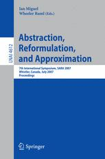Abstraction, Reformulation, and Approximation