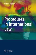 Procedures in International Law