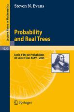 Probability and Real Trees