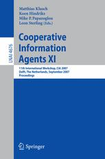 Cooperative Information Agents XI