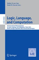 Logic, Language, and Computation