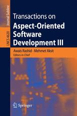 Transactions on Aspect-Oriented Software Development III