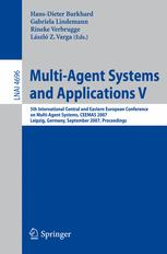Multi-Agent Systems and Applications V