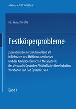 Festkörperprobleme 1