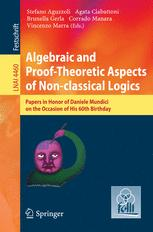 Algebraic and Proof-theoretic Aspects of Non-classical Logics