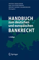 Handbuch zum deutschen und europäischen Bankrecht