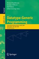Datatype-Generic Programming