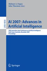 AI 2007: Advances in Artificial Intelligence