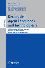 Declarative Agent Languages and Technologies V
