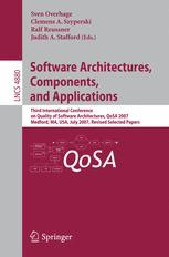 Software Architectures, Components, and Applications