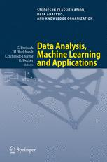 Data Analysis, Machine Learning and Applications