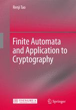 Finite Automata and Application to Cryptography