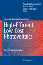 High-Efficient Low-Cost Photovoltaics
