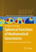 Spherical Functions of Mathematical Geosciences