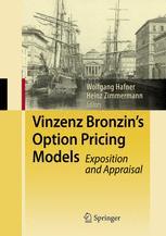 Vinzenz Bronzin's Option Pricing Models