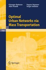 Optimal Urban Networks via Mass Transportation