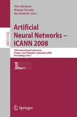Artificial Neural Networks - ICANN 2008