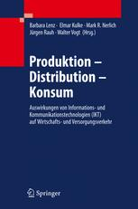 Produktion - Distribution - Konsum