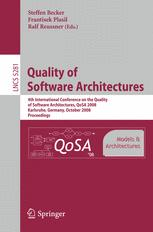 Quality of Software Architectures. Models and Architectures
