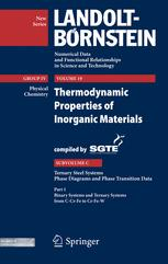 Ternary Steel Systems: Phase Diagrams and Phase Transition Data