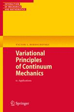 Variational Principles of Continuum Mechanics