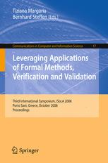 Leveraging Applications of Formal Methods, Verification and Validation