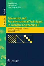 Generative and Transformational Techniques in Software Engineering II