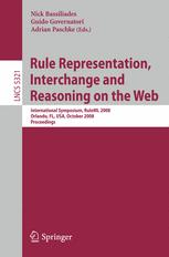 Rule Representation, Interchange and Reasoning on the Web