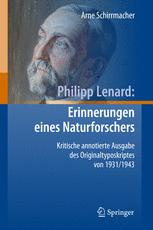 Philipp Lenard: Erinnerungen eines Naturforschers