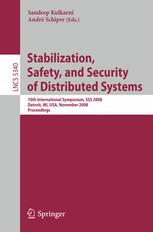 Stabilization, Safety, and Security of Distributed Systems