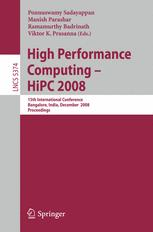 High Performance Computing - HiPC 2008