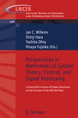 Perspectives in Mathematical System Theory, Control, and Signal Processing